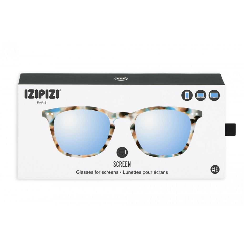 #E SCREEN Anti Blue Light Glasses > Teens and Adults > Blue Tortoise