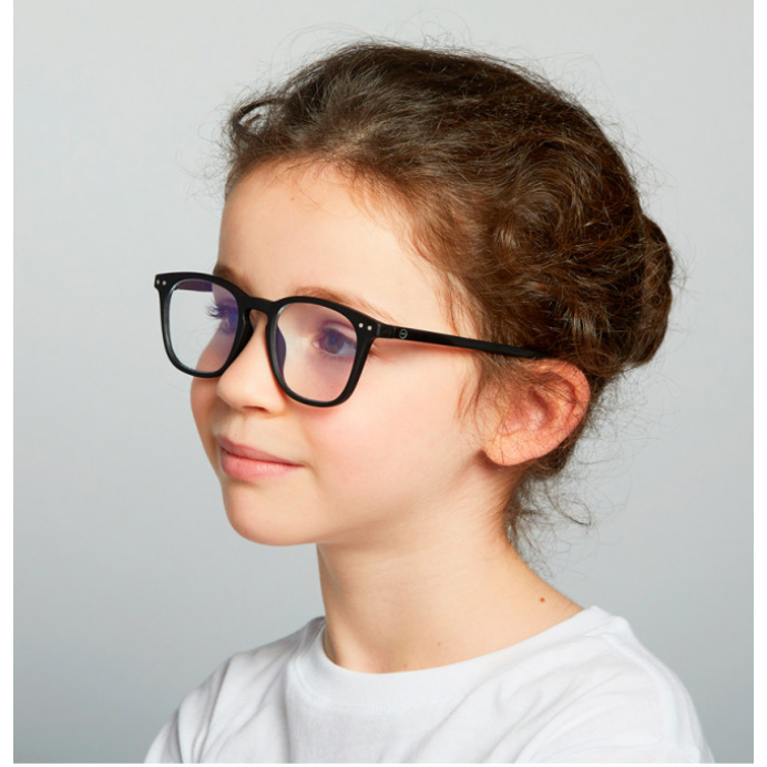 #E SCREEN Anti Blue Light Glasses > JUNIOR BLACK > 5-10 YEARS