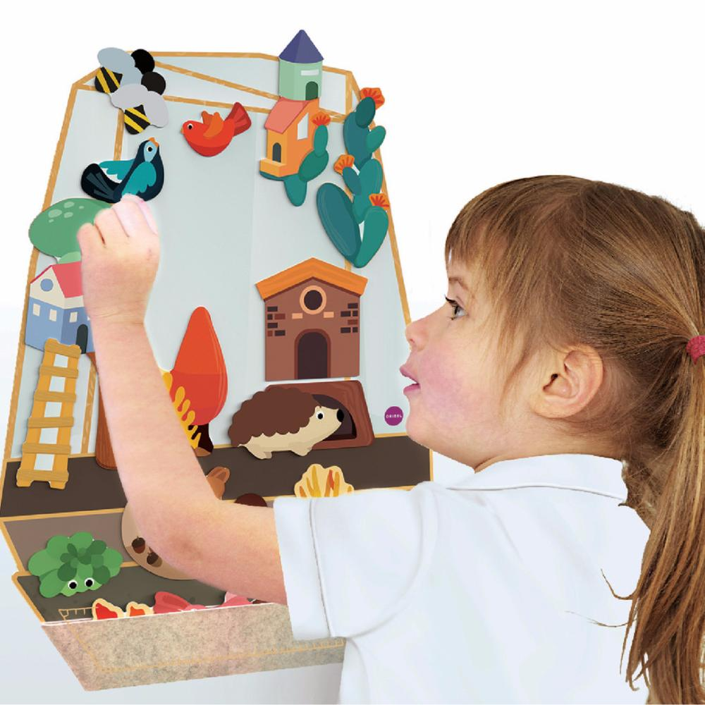 Vertiplay Wall Toy - The Enchanted Garden