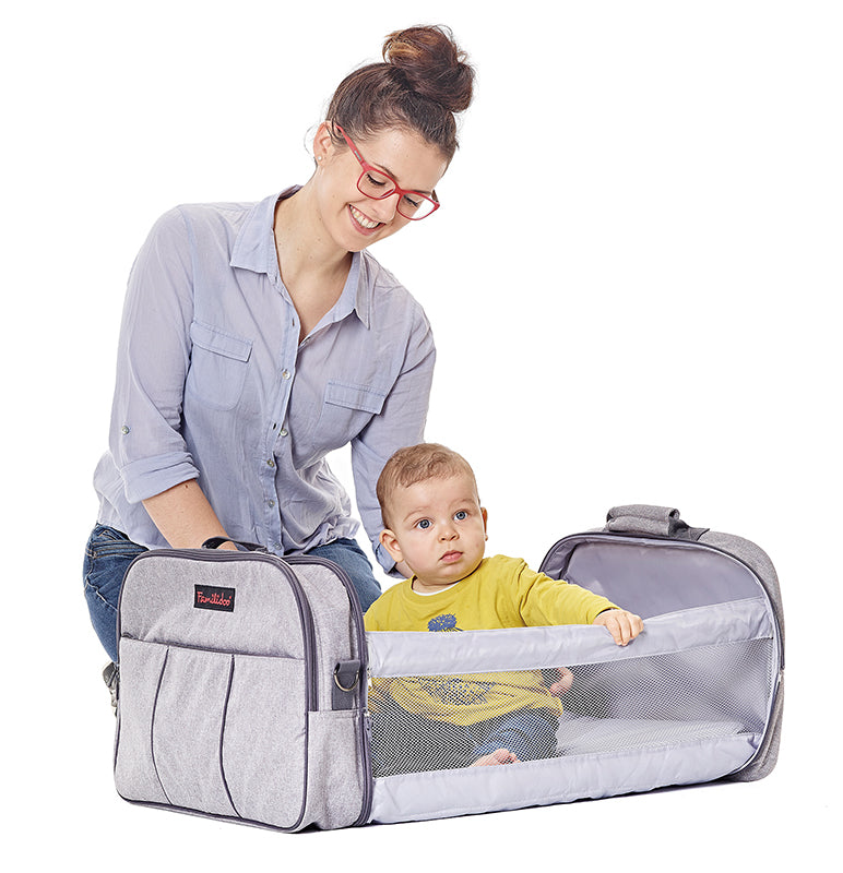 Travel Cot and Nursery Bag all-in-one (CAMO)