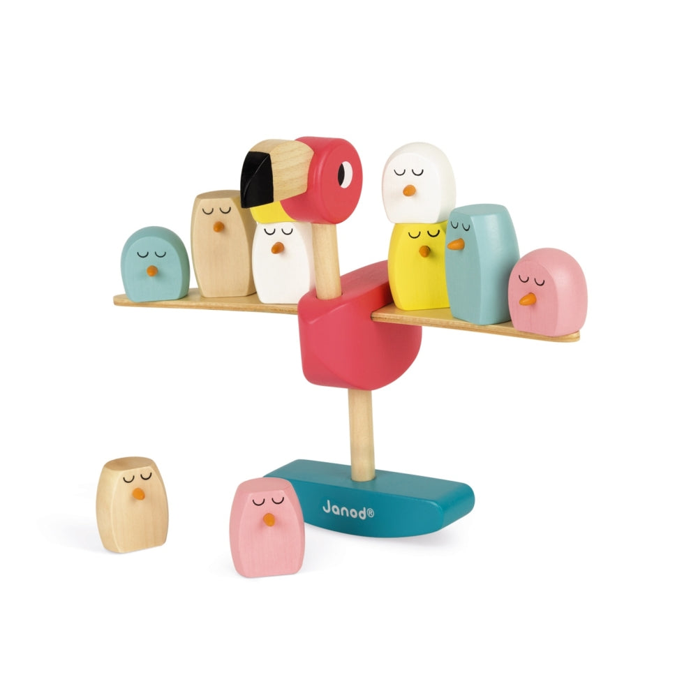 ZIGOLOS BALANCING GAME - FLAMINGO