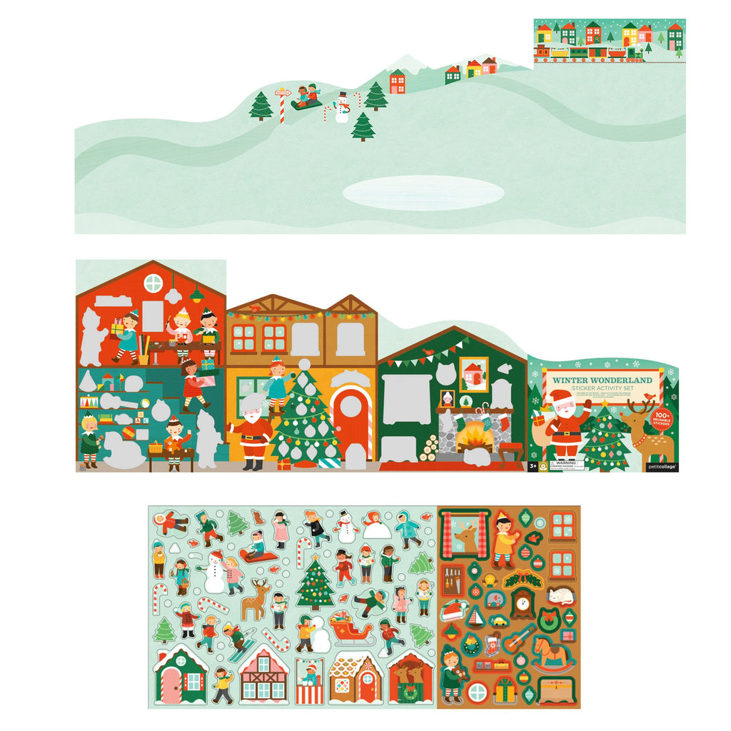 Winter Wonderland - Reusable Sticker Activity Set
