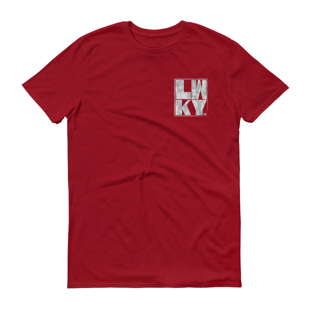 LWKY POCKET TEE | CAMO WHITE