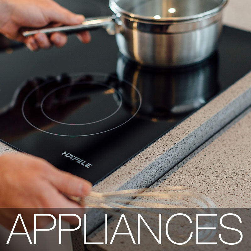 Kitchen Appliances and ceramic cooktop