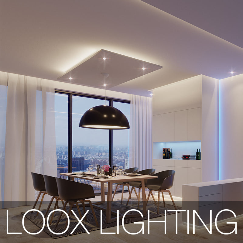 LOOX Lighting: LED Lighting in living area