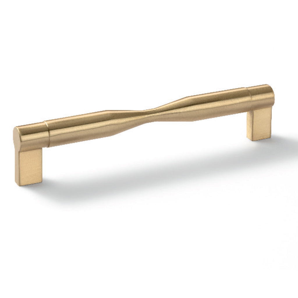 Brass Brushed Plated Furniture Handle H1925