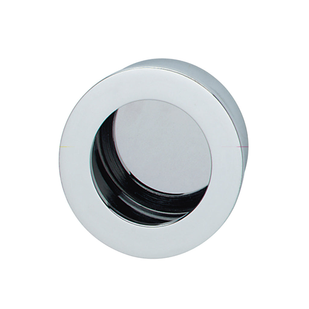 Luxe Flush Handle Chrome-plated polished