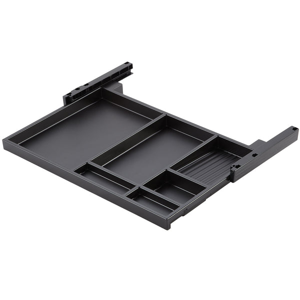 Black Extending Utensils Tray