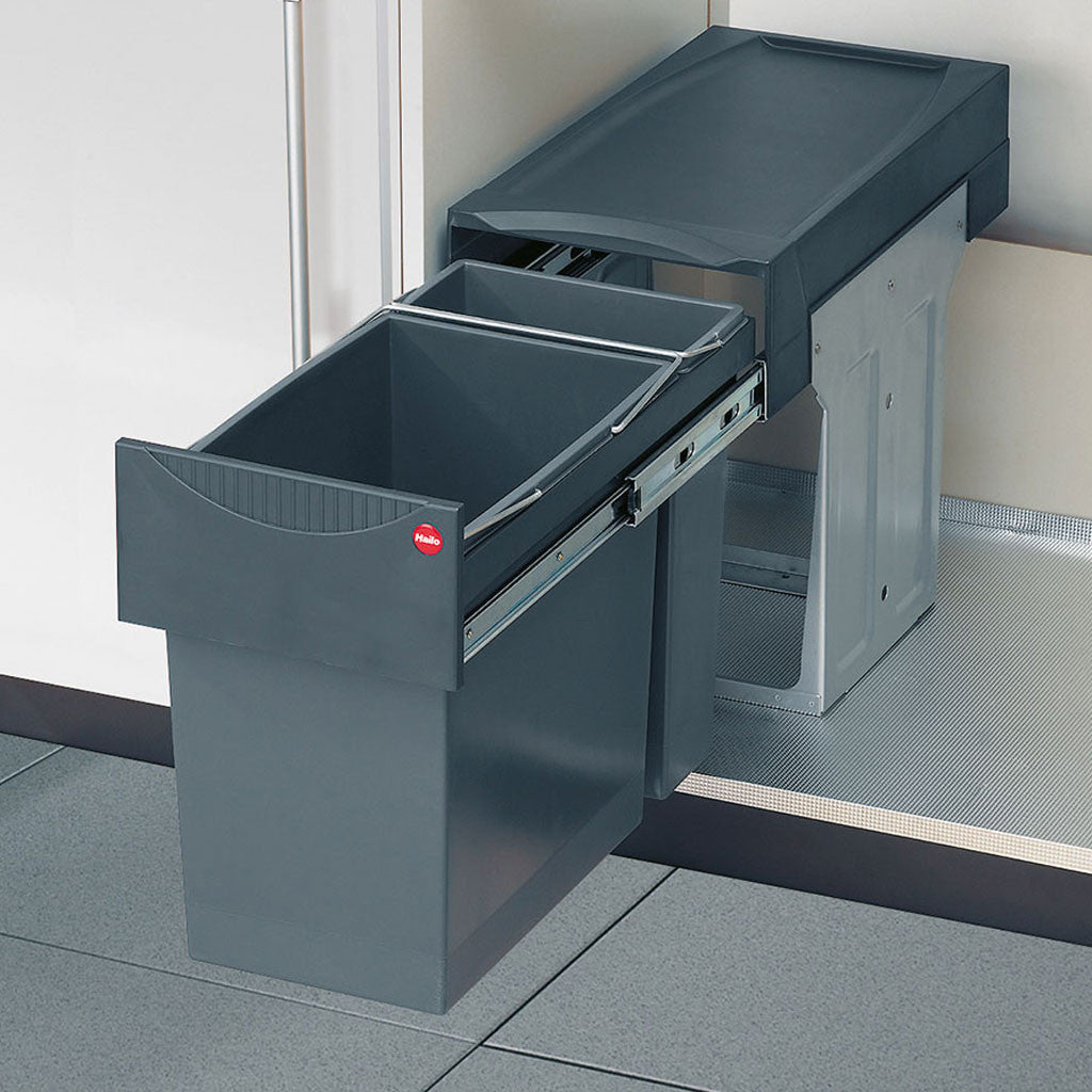 Hailo TANDEM 31 Kitchen Waste and recycling bin