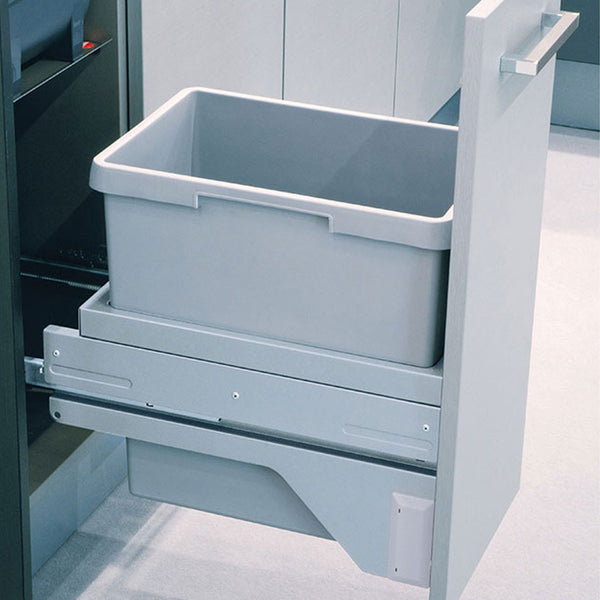 Hailo EURO-CARGO ST30 Kitchen pull out bin in light grey