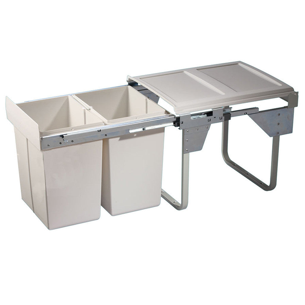 OSKA HSC Waste bin, For carcase with min. width 450 mm, base mounted behind hinged door