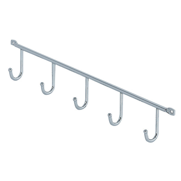 Hook Rails Chrome-plated