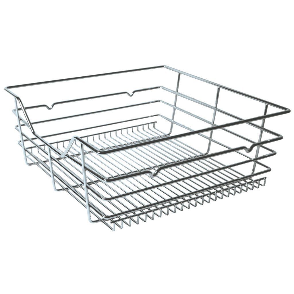 PULL-OUT WIRE STORAGE BASKET