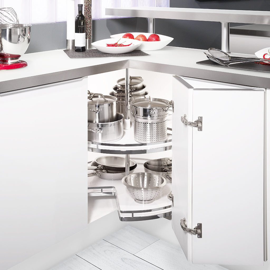 Carousel 270° - Cabinet Solution for Kitchen Corners