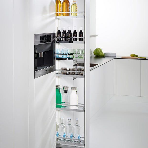 Clever Kitchen Storage Dispensa Pantry 170 in White