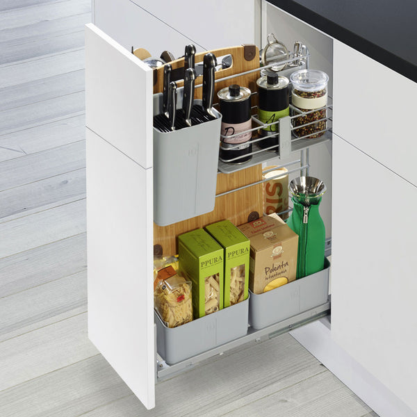 Kesseböhmer Cooking Agent Pull-Out Storage for Kitchen Base Units
