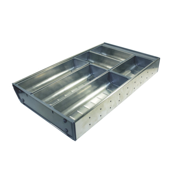 Stainless Steel Cutlery Tray