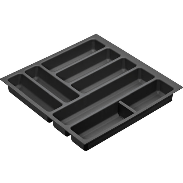 Grip Cutlery Tray Drawer Insert in Anthracite