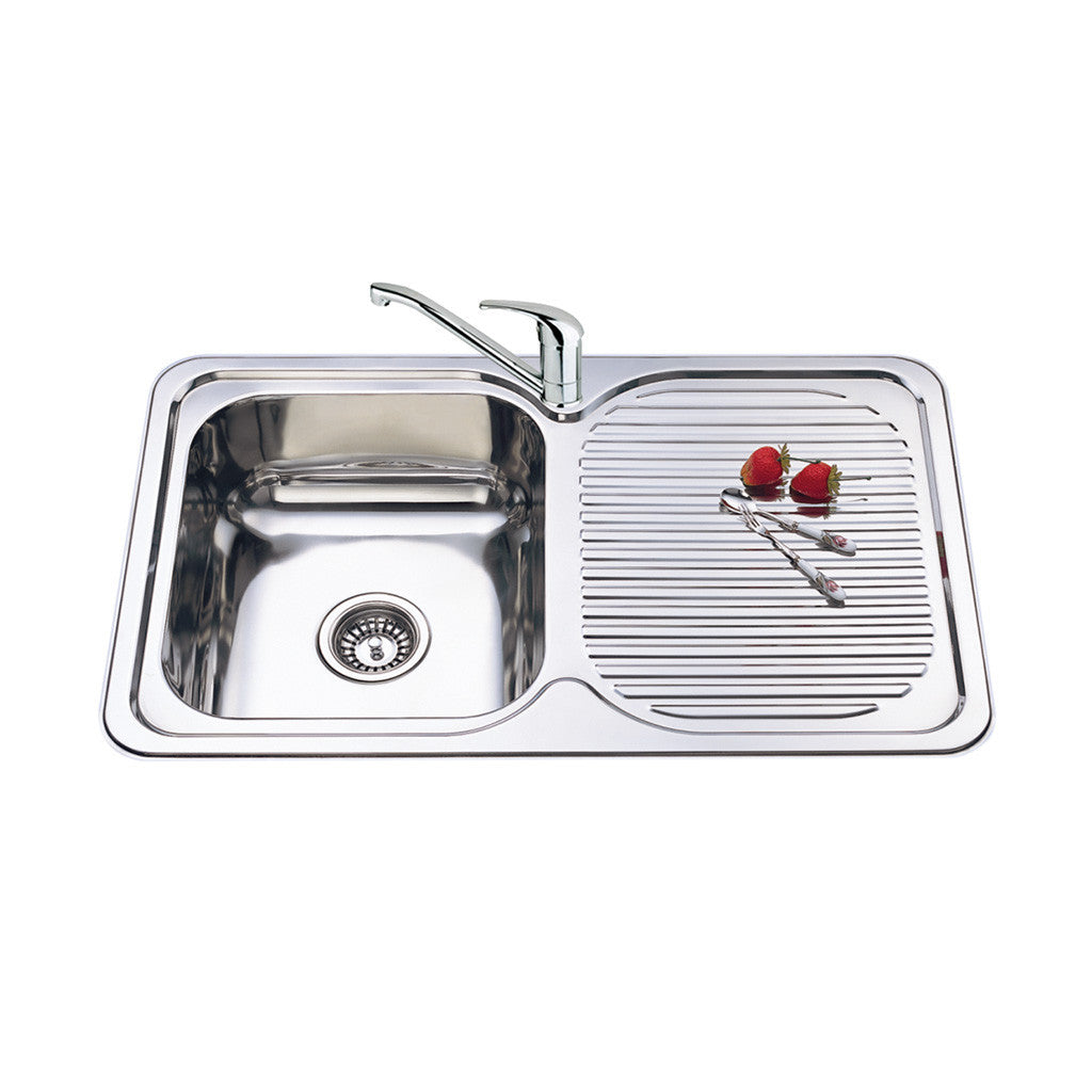 Single Bowl Sink R/H Drainer