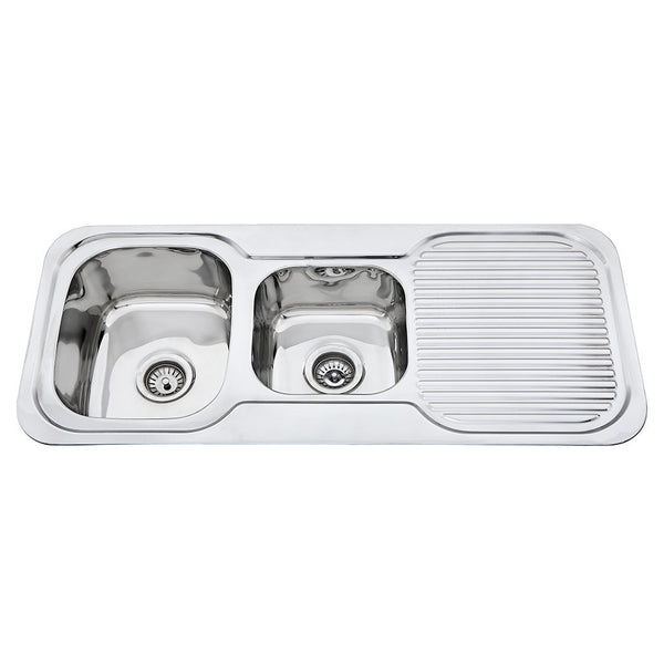 1 & 3/4 Bowl Sink R/H Drainer