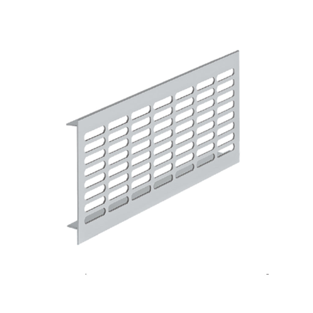 Aluminium Ventilation Grill silver coloured