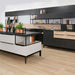 Smart Cube Shelving in black Kitchen