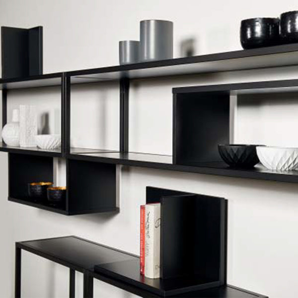 Smart Cube Shelving system on wall