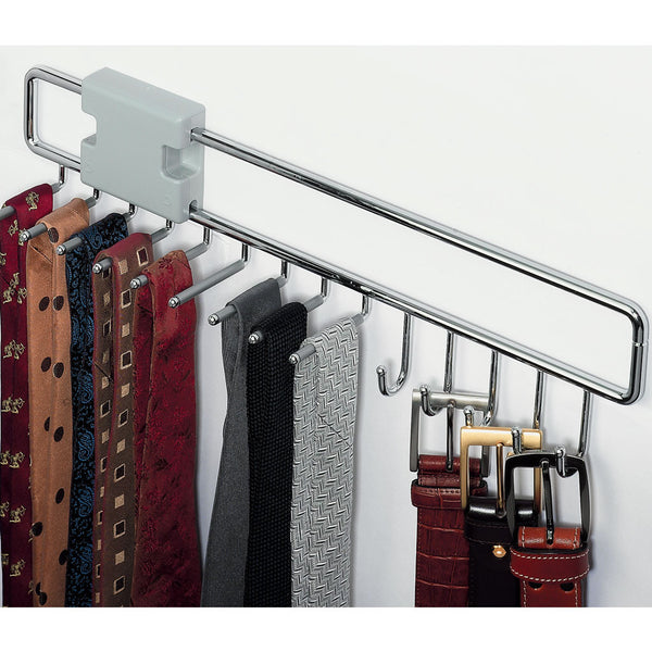 EXTENDING TIE AND BELT RACK