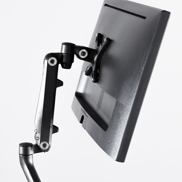 Dream Monitor Arm Single in Black