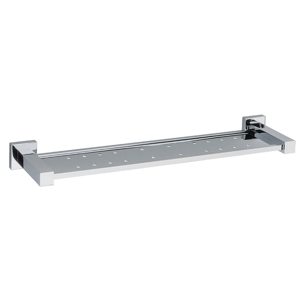 Coogee Metal Shower Shelf in Polished Chrome