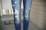 Rough Around the Edges Kancan Jeans