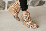 Emery Wedge Booties