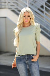 Lilly Puff Sleeve Top
