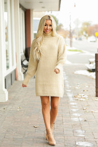 Soft Mohair Sweater Dress