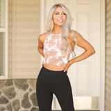 Tie Dye Workout Crop Tank