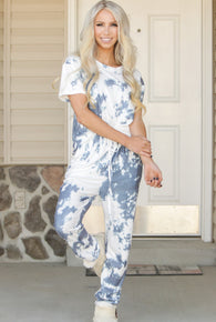 Tie Dye Tee and Jogger Set