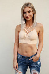 Double Criss Cross Bralette