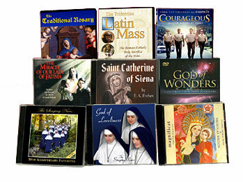 Traditional Catholic CDs and DVDs (Movies, Documentaries, Devotional)