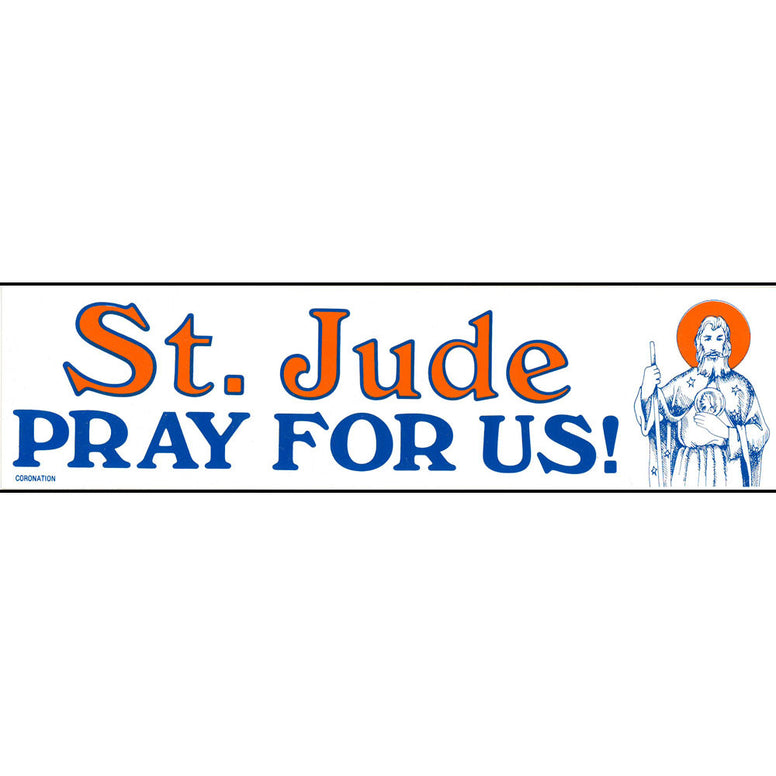 St. Jude Bumper Sticker