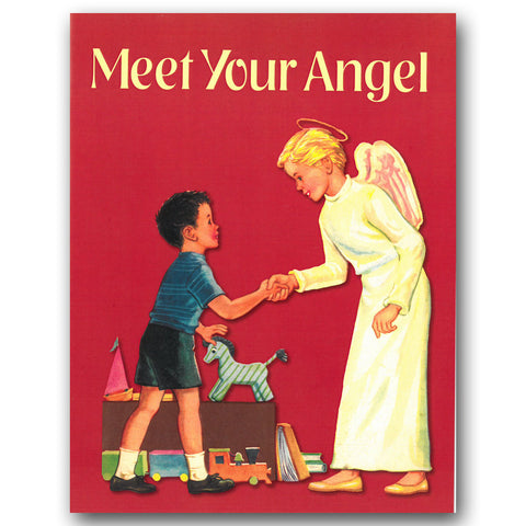 Meet Your Angel Coloring Book