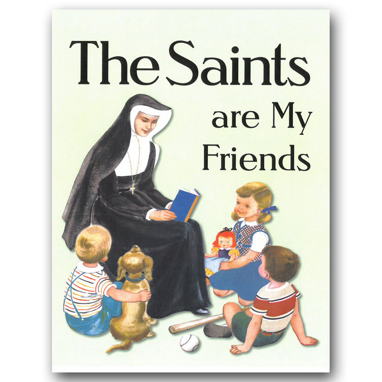 The Saints are My Friends Coloring Book