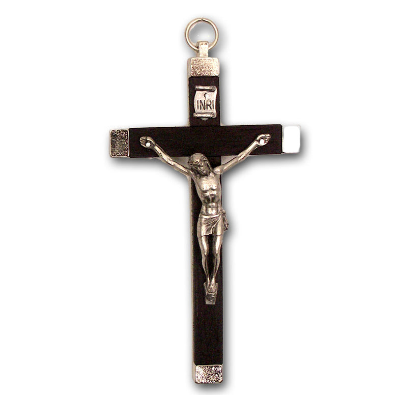 "4"" Crucifix: Ebony Inlay"
