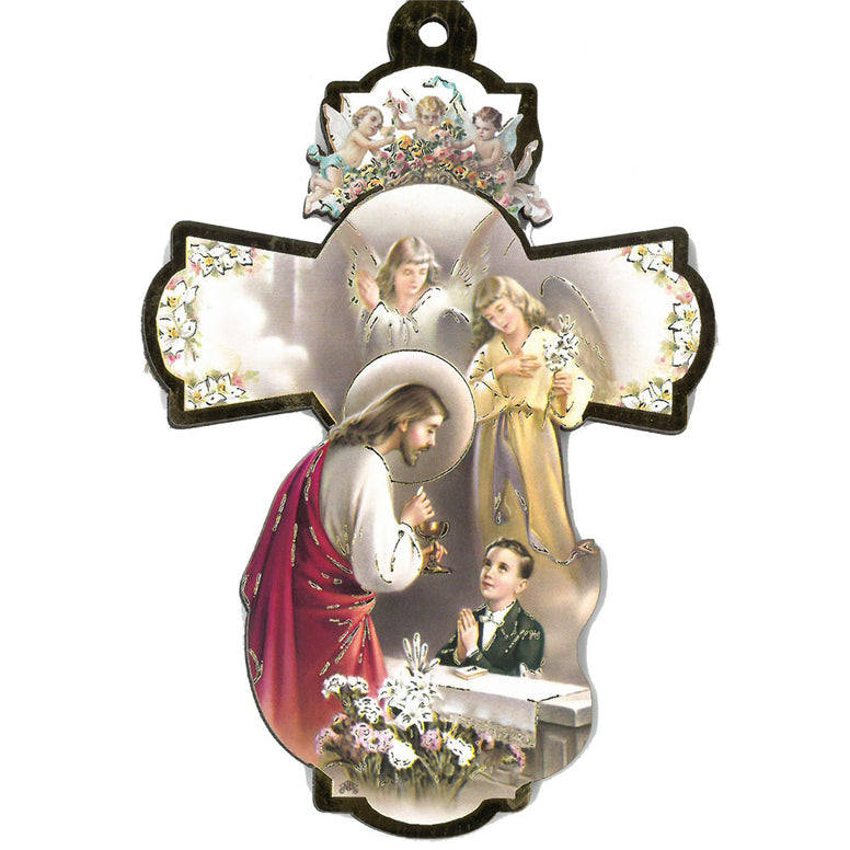 "6"" First Communion Cross - Boy"
