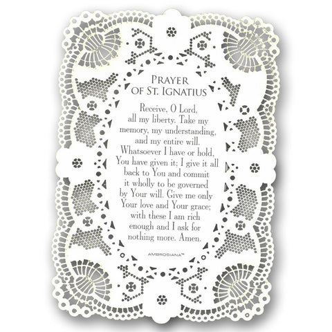 Ecce Agnus Dei First Communion Card