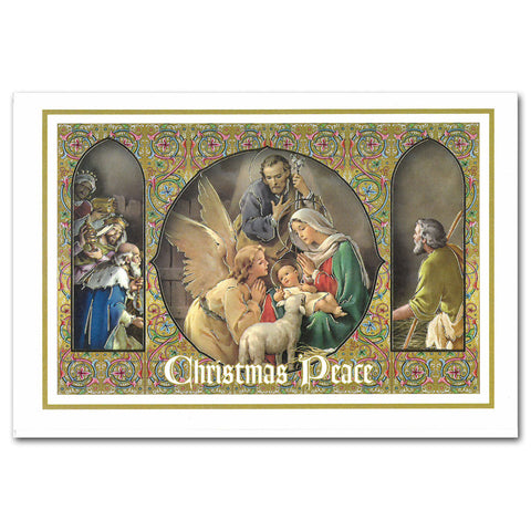 Framed Christmas Peace - Single Card