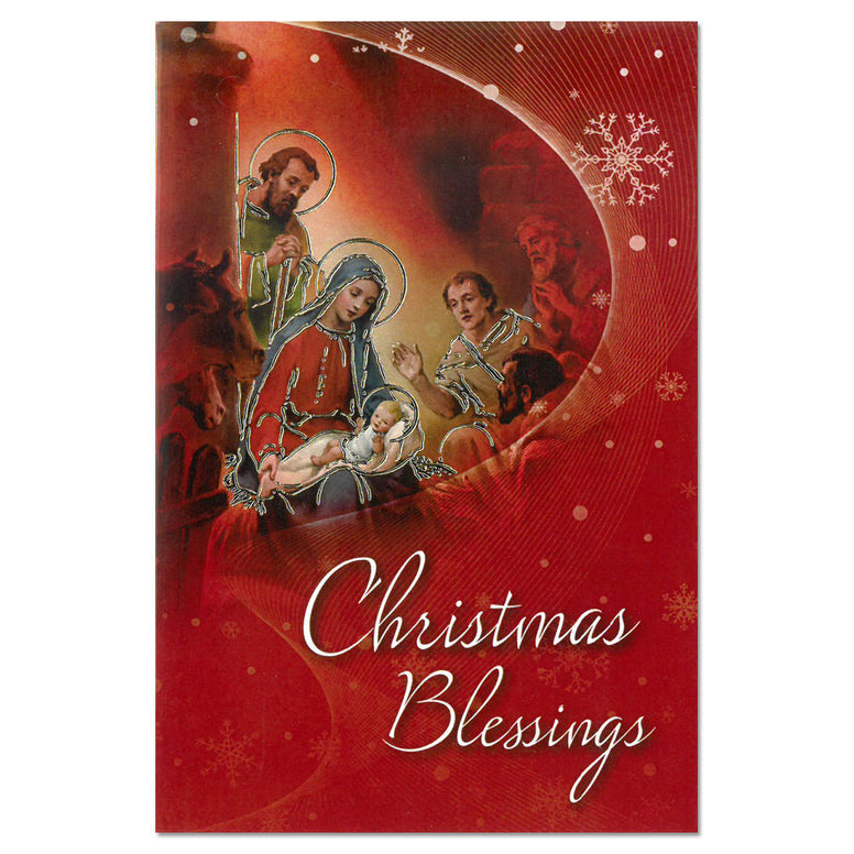 Christmas Card: Blessings