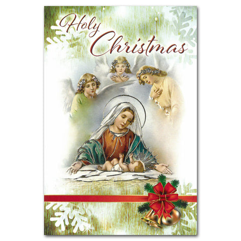 Holy Christmas - single card