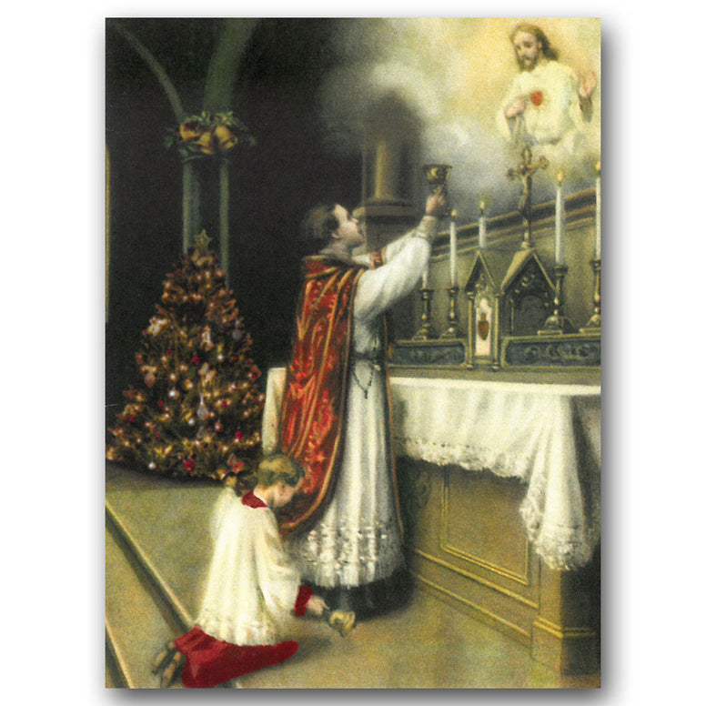 Christmas Mass Remembrance Card