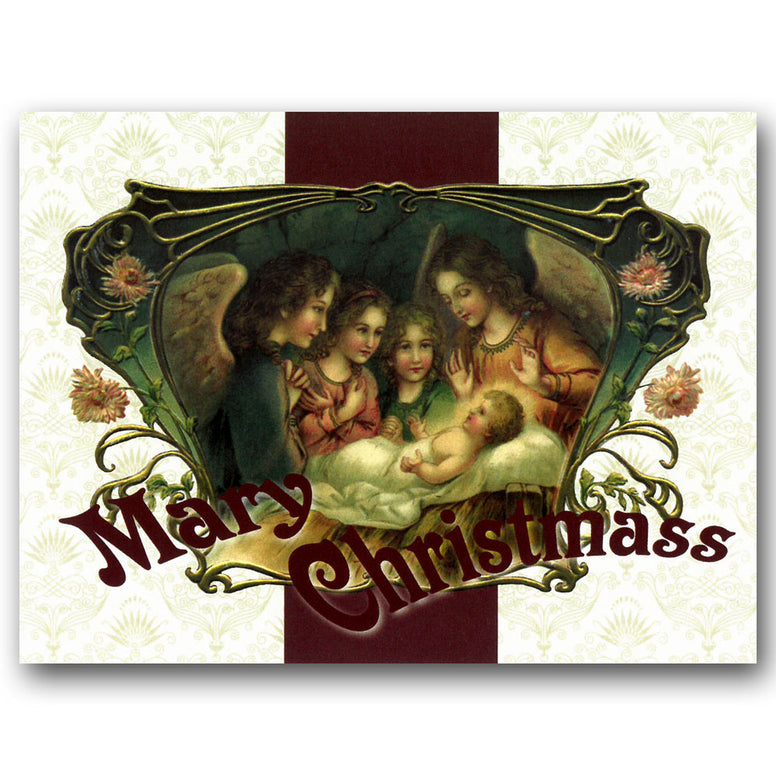 Mary Christmass Card