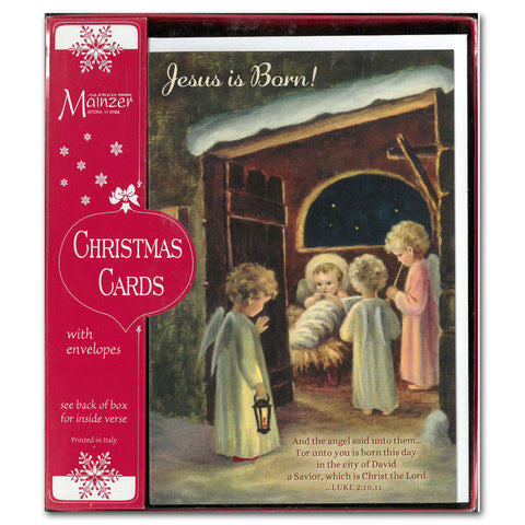 Jesus is Born - 16 cards